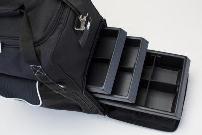 HighBox Trolley mit herausnehmbaren Schubladen für MakeUp, Farbpaletten, Tücher, Zubehör und Kleinteile