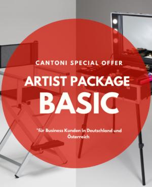 Cantoni Angebot für Grundausstattung von MakeUp Artists